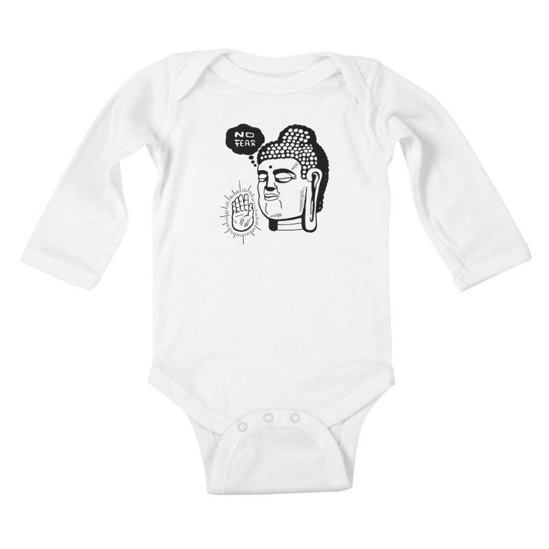 Abhaya Kids Baby Longsleeve Bodysuit by Timo Ambo