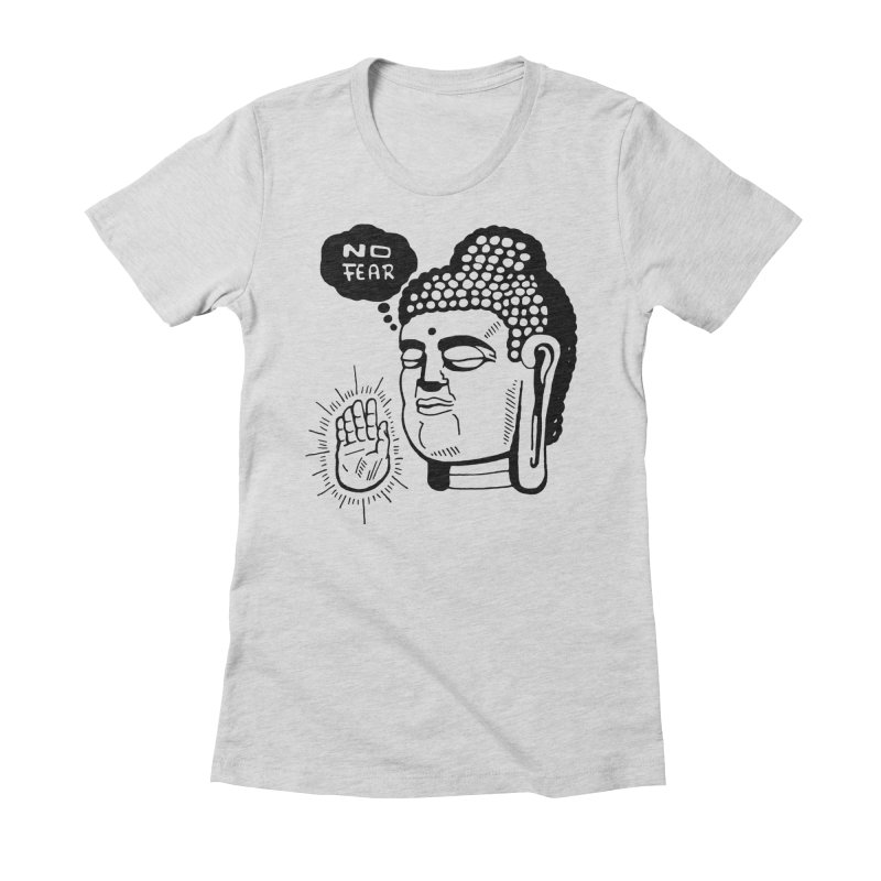 Abhaya Women's Fitted T-Shirt by Timo Ambo