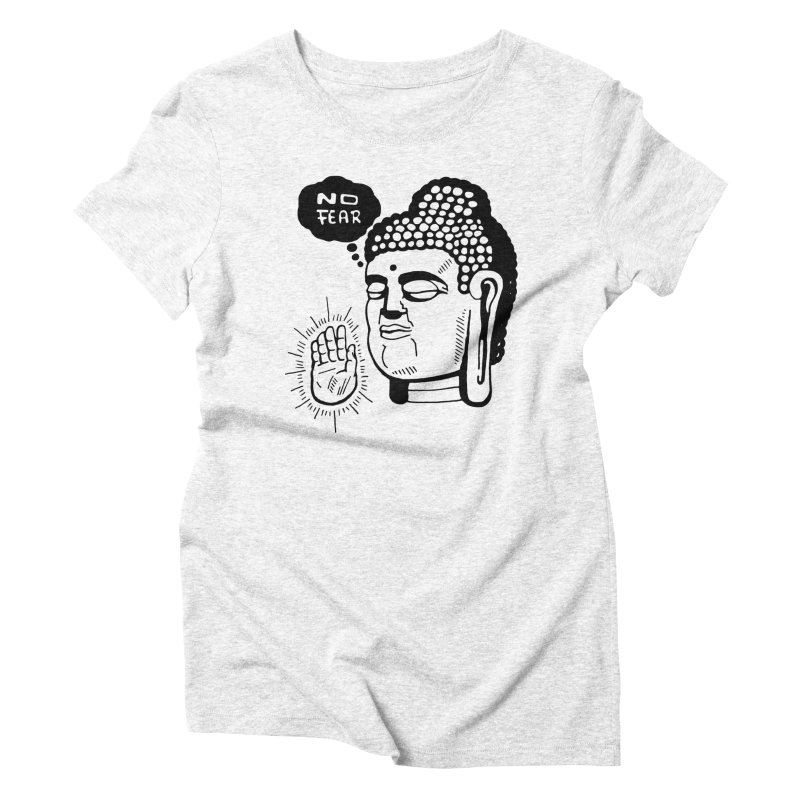 Abhaya Women's Triblend T-shirt by Timo Ambo