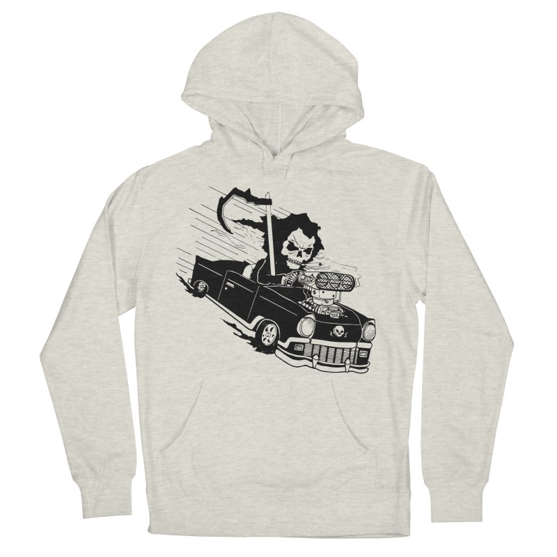 Ride or Die Women's French Terry Pullover Hoody by Timo Ambo