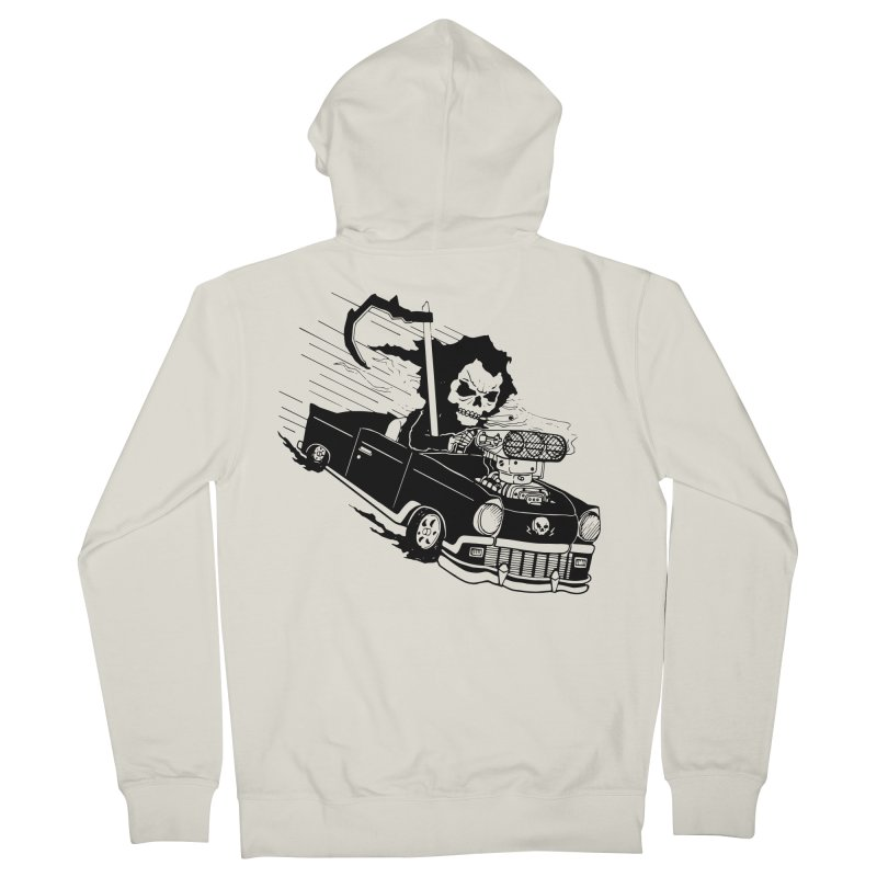 Ride or Die Women's Zip-Up Hoody by Timo Ambo