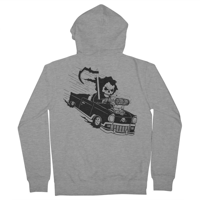 Ride or Die Men's French Terry Zip-Up Hoody by Timo Ambo