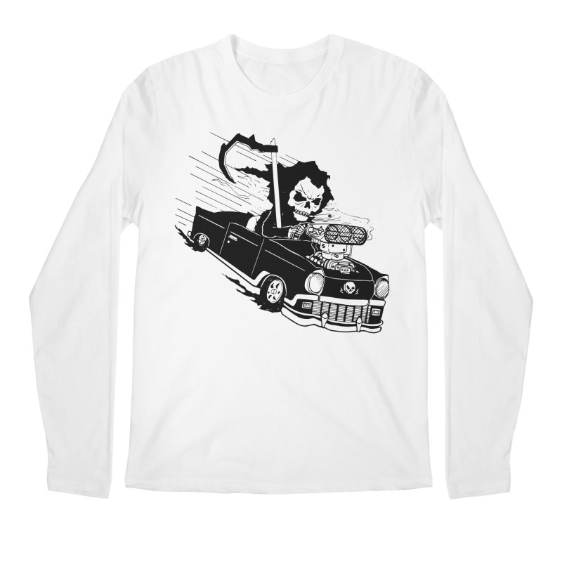 Ride or Die Men's Regular Longsleeve T-Shirt by Timo Ambo