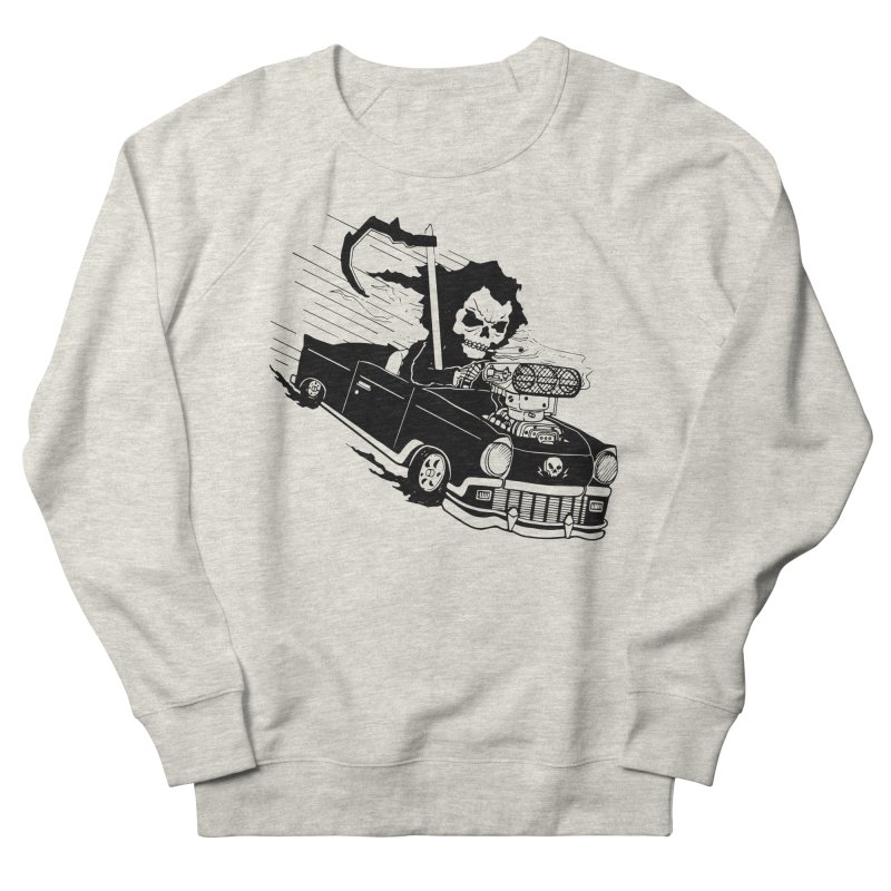 Ride or Die Women's French Terry Sweatshirt by Timo Ambo