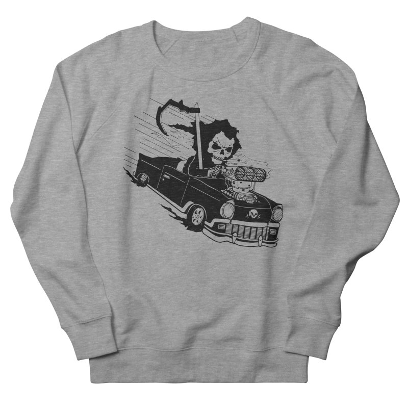Ride or Die Men's French Terry Sweatshirt by Timo Ambo