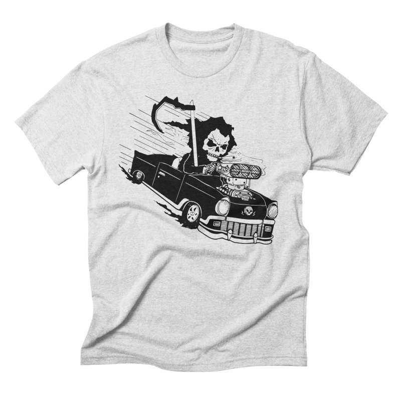 Ride or Die Men's Triblend T-Shirt by Timo Ambo