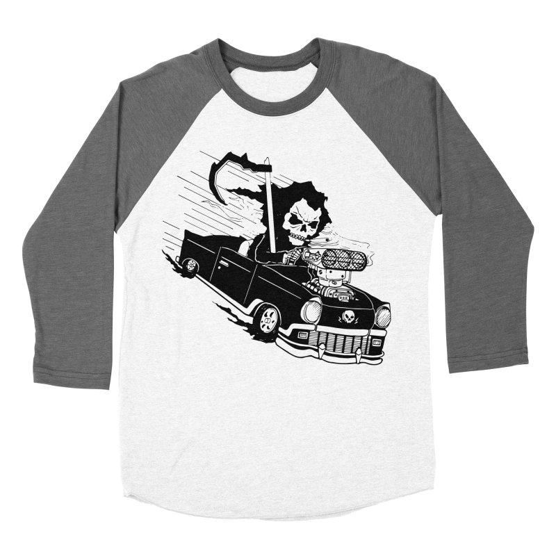 Ride or Die Women's Baseball Triblend Longsleeve T-Shirt by Timo Ambo