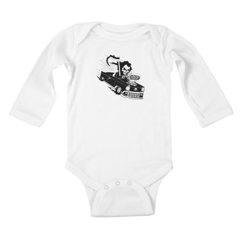 Ride or Die Kids Baby Longsleeve Bodysuit by Timo Ambo