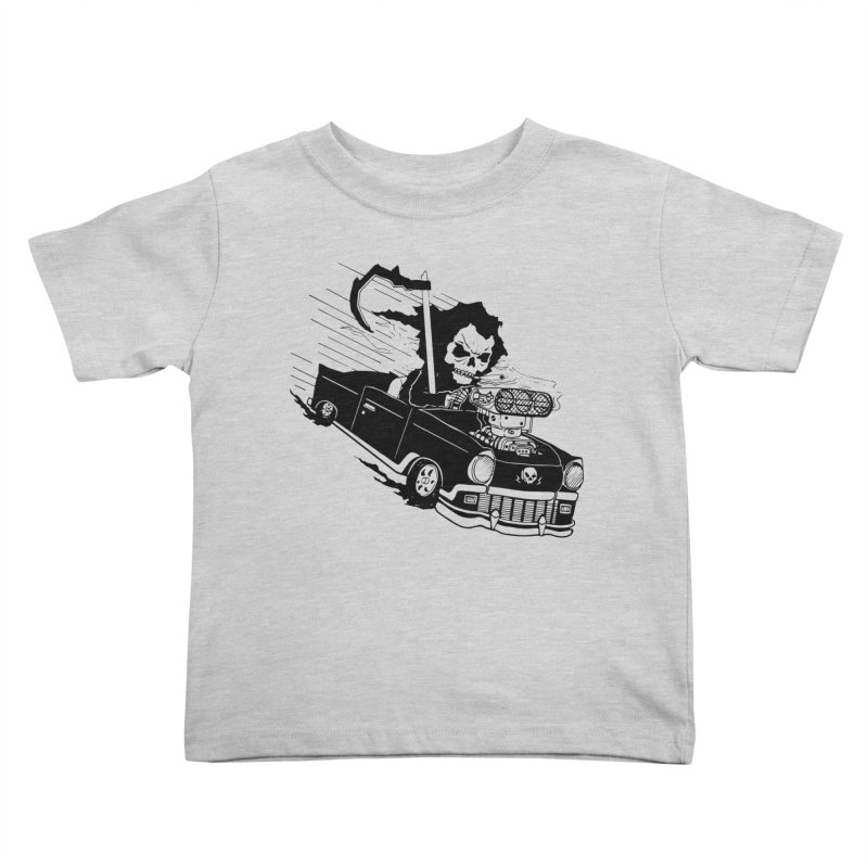 Ride or Die Kids Toddler T-Shirt by Timo Ambo