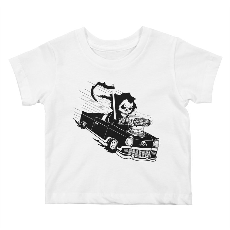 Ride or Die Kids Baby T-Shirt by Timo Ambo
