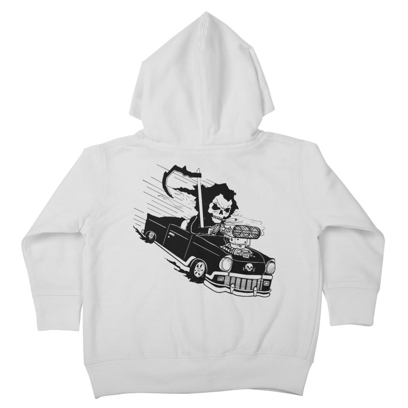 Ride or Die Kids Toddler Zip-Up Hoody by Timo Ambo