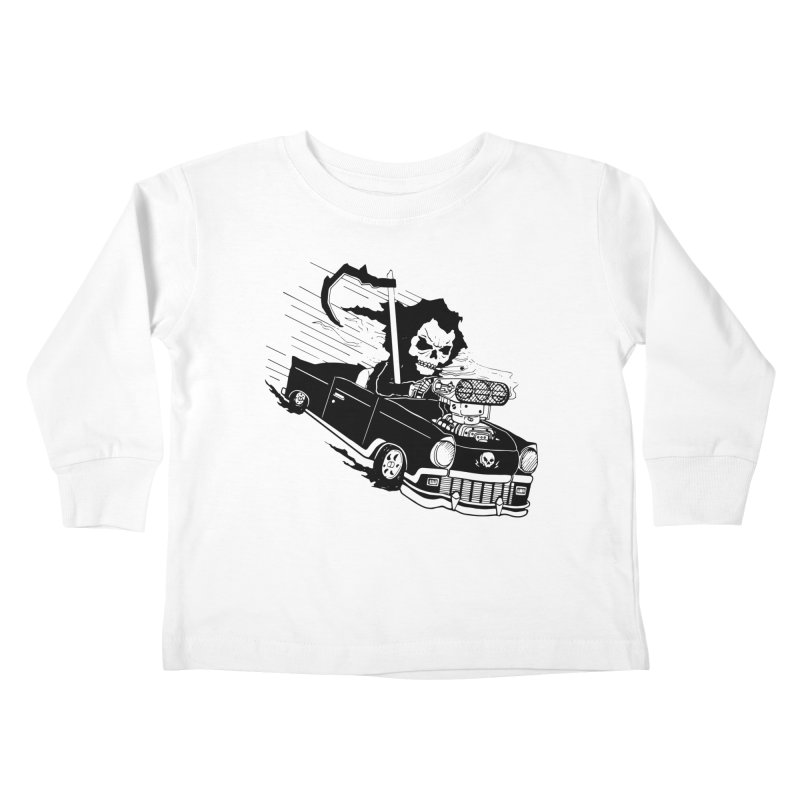 Ride or Die Kids Toddler Longsleeve T-Shirt by Timo Ambo