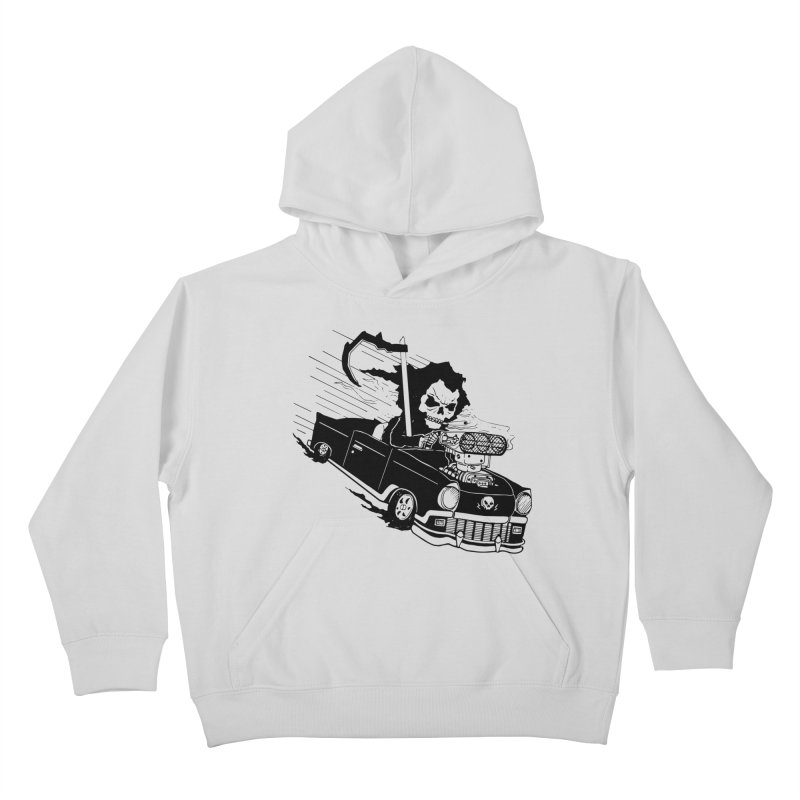 Ride or Die Kids Pullover Hoody by Timo Ambo