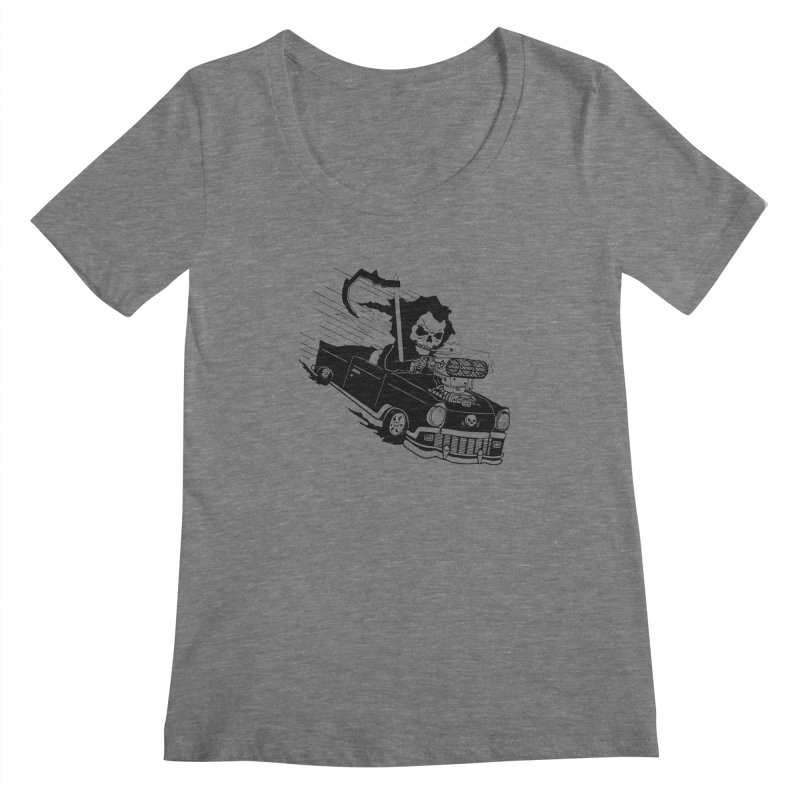 Ride or Die Women's Scoopneck by Timo Ambo