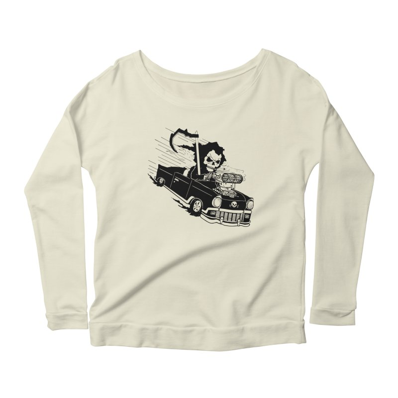 Ride or Die Women's Scoop Neck Longsleeve T-Shirt by Timo Ambo