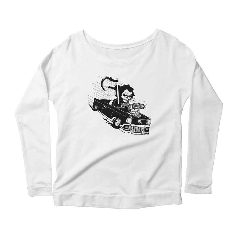 Ride or Die Women's Longsleeve Scoopneck  by Timo Ambo