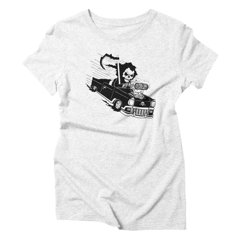 Ride or Die Women's Triblend T-shirt by Timo Ambo
