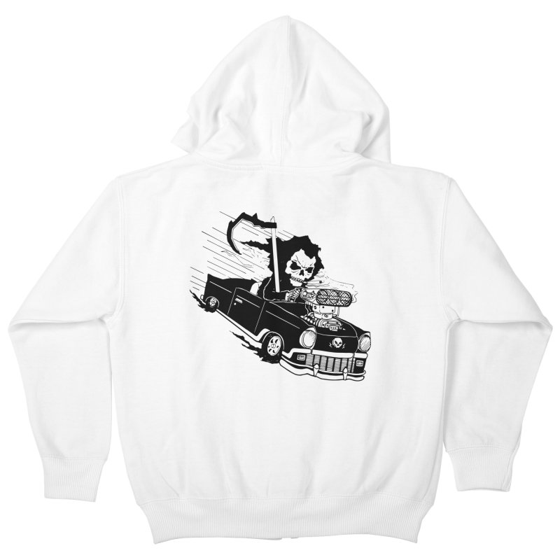 Ride or Die Kids Zip-Up Hoody by Timo Ambo