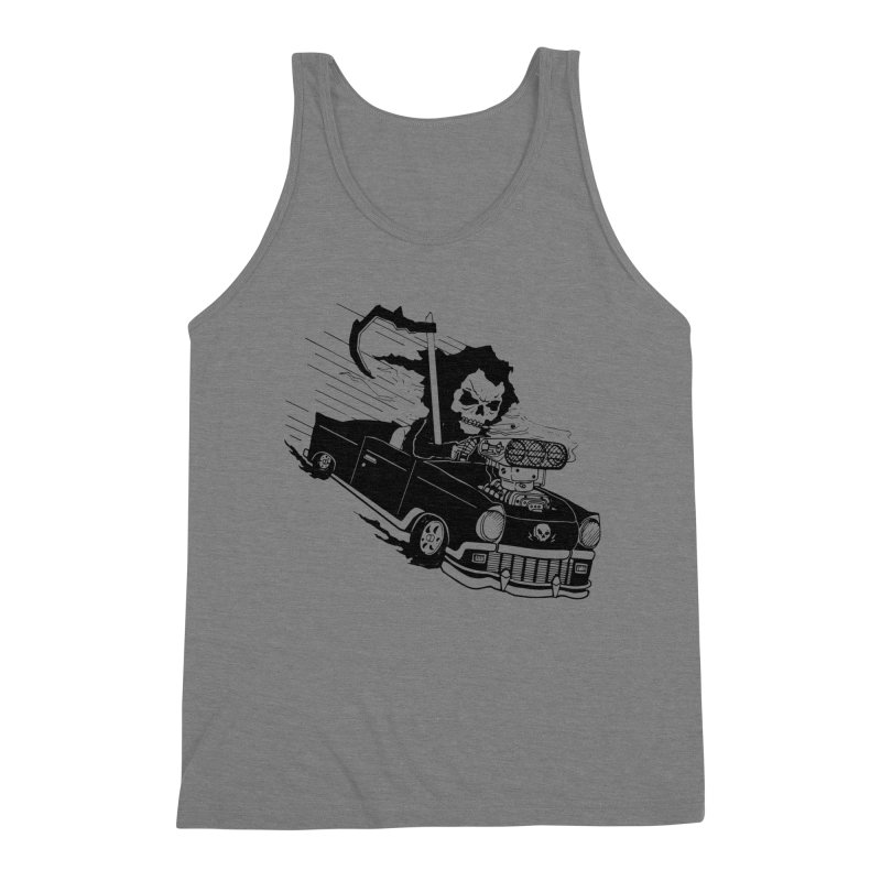 Ride or Die Men's Triblend Tank by Timo Ambo