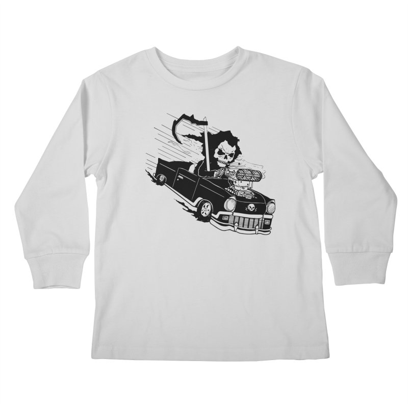 Ride or Die Kids Longsleeve T-Shirt by Timo Ambo