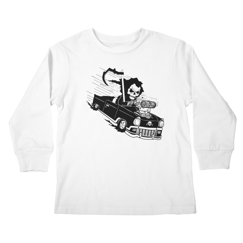 Ride or Die Kids Longsleeve T-Shirt by Timo Ambo