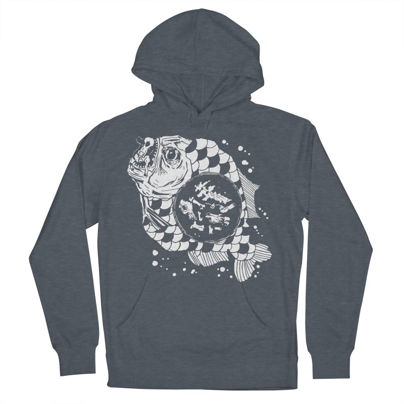 Hunger the Sea Men's Pullover Hoody by Timo Ambo