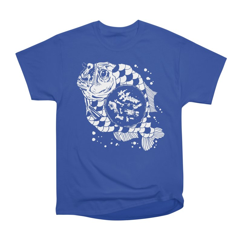 Hunger the Sea Men's Classic T-Shirt by Timo Ambo