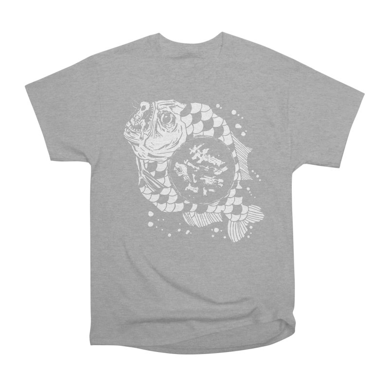 Hunger the Sea Women's Heavyweight Unisex T-Shirt by Timo Ambo