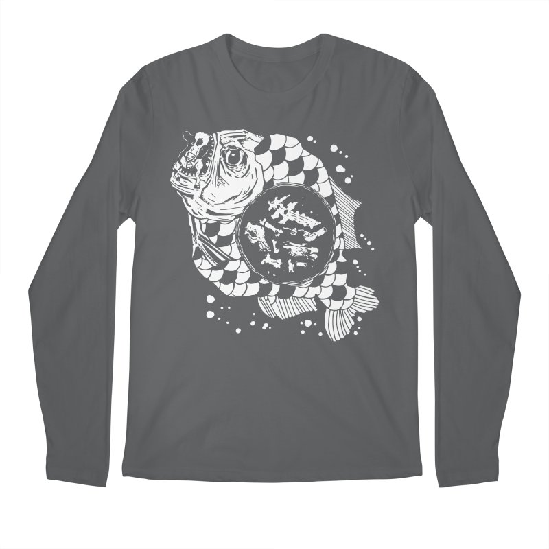 Hunger the Sea Men's Longsleeve T-Shirt by Timo Ambo