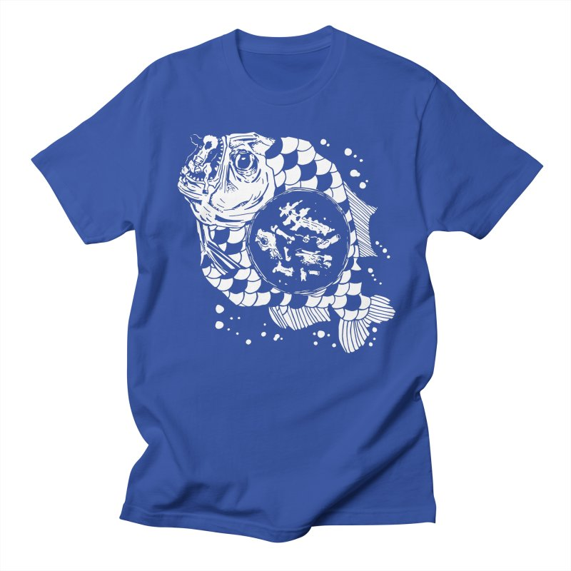 Hunger the Sea Men's Regular T-Shirt by Timo Ambo
