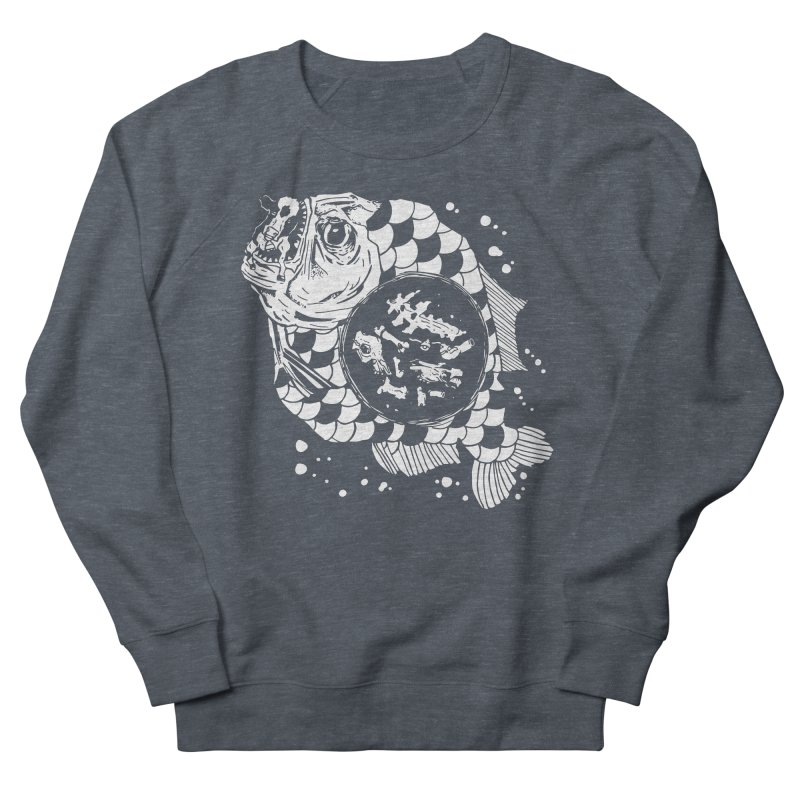 Hunger the Sea Men's Sweatshirt by Timo Ambo