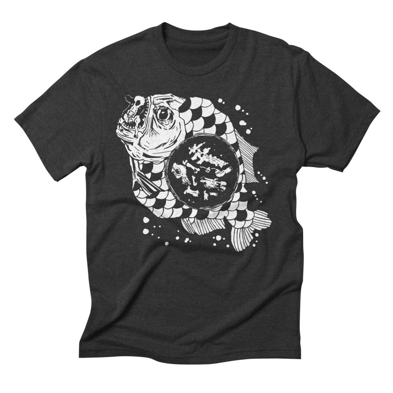 Hunger the Sea Men's Triblend T-shirt by Timo Ambo