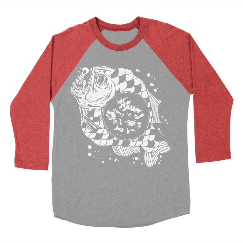 Hunger the Sea Women's Baseball Triblend Longsleeve T-Shirt by Timo Ambo