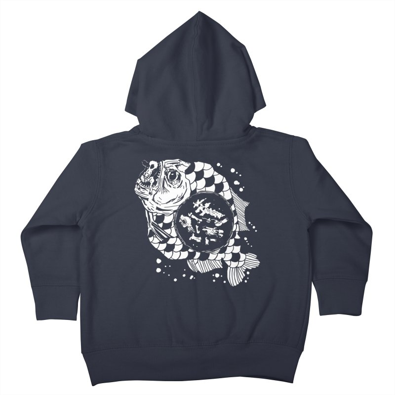 Hunger the Sea Kids Toddler Zip-Up Hoody by Timo Ambo