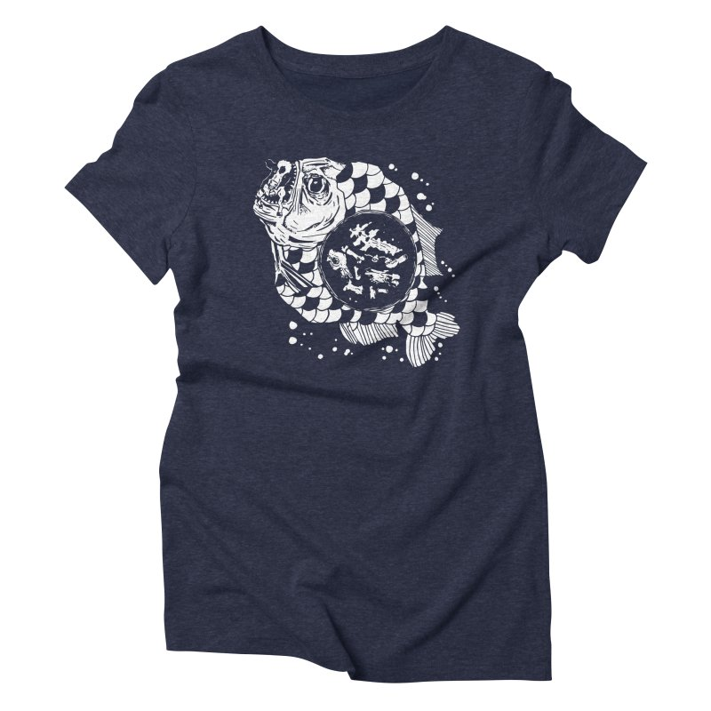 Hunger the Sea Women's Triblend T-shirt by Timo Ambo