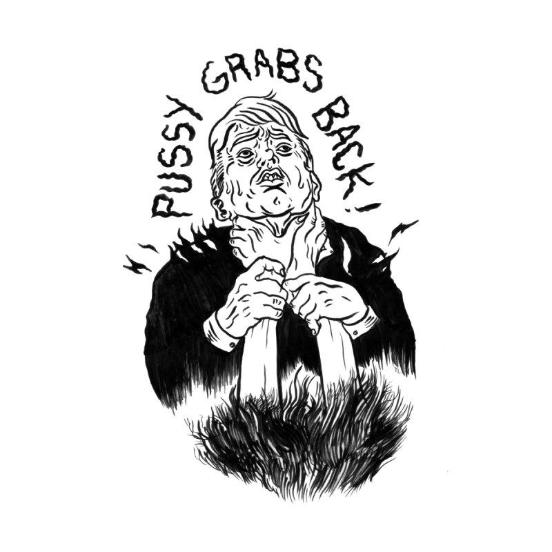 Pussy Grabs Back Men's T-Shirt by Tina Lugo's Artist Shop
