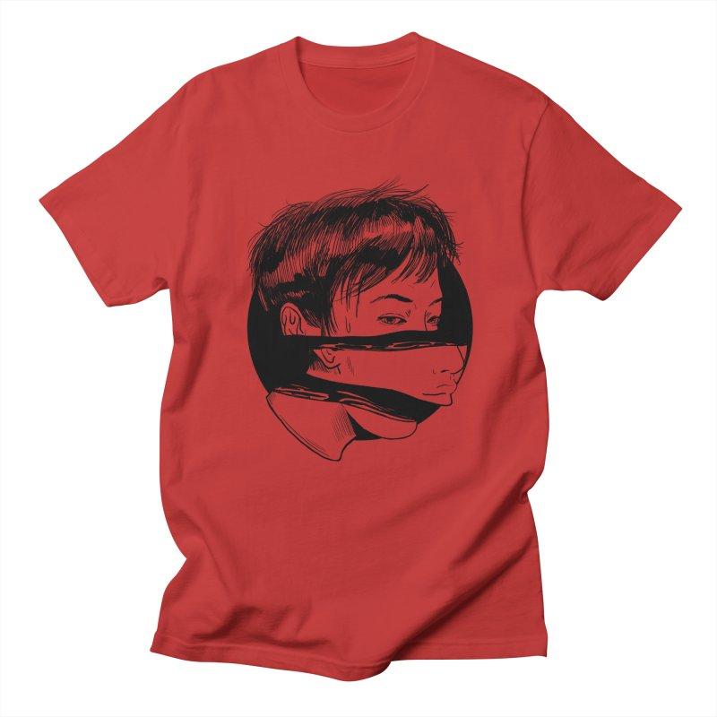 what lies beneath  Men's Regular T-Shirt by Tina Lugo's Artist Shop