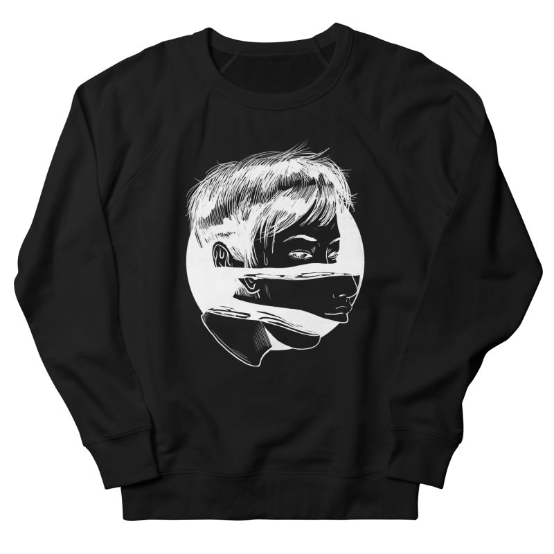 what lies beneath Men's French Terry Sweatshirt by Tina Lugo's Artist Shop
