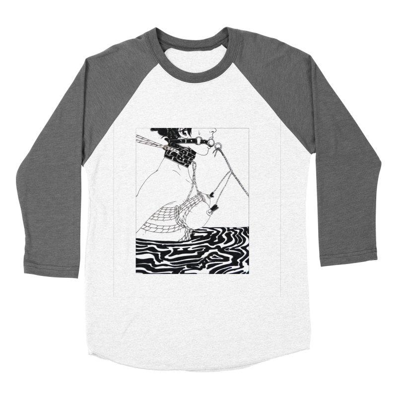 Drag Me Home Men's Baseball Triblend Longsleeve T-Shirt by Tina Lugo's Artist Shop