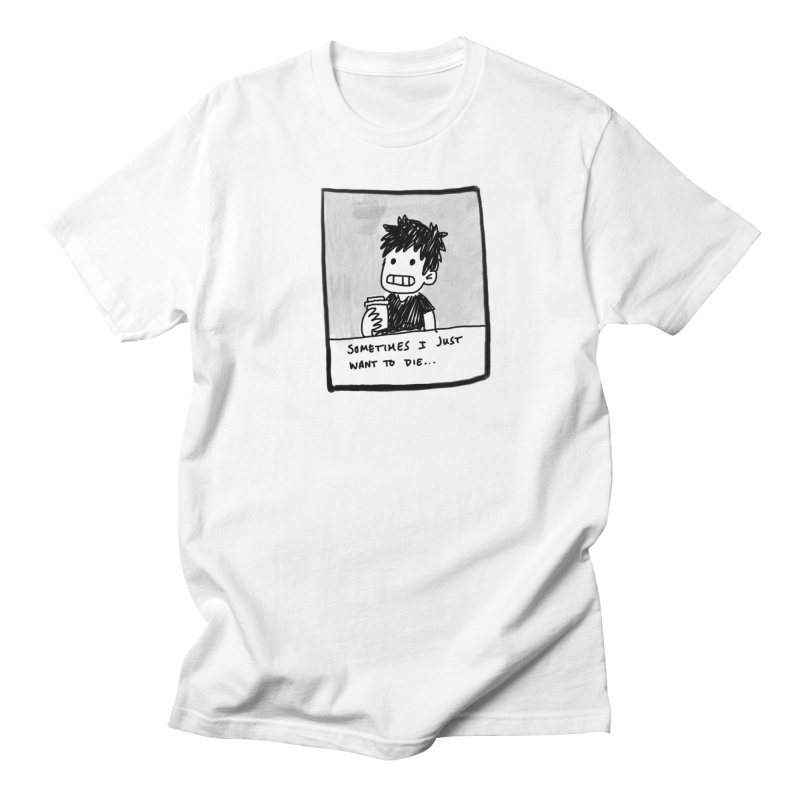 DED Men's Regular T-Shirt by Tina Lugo's Artist Shop