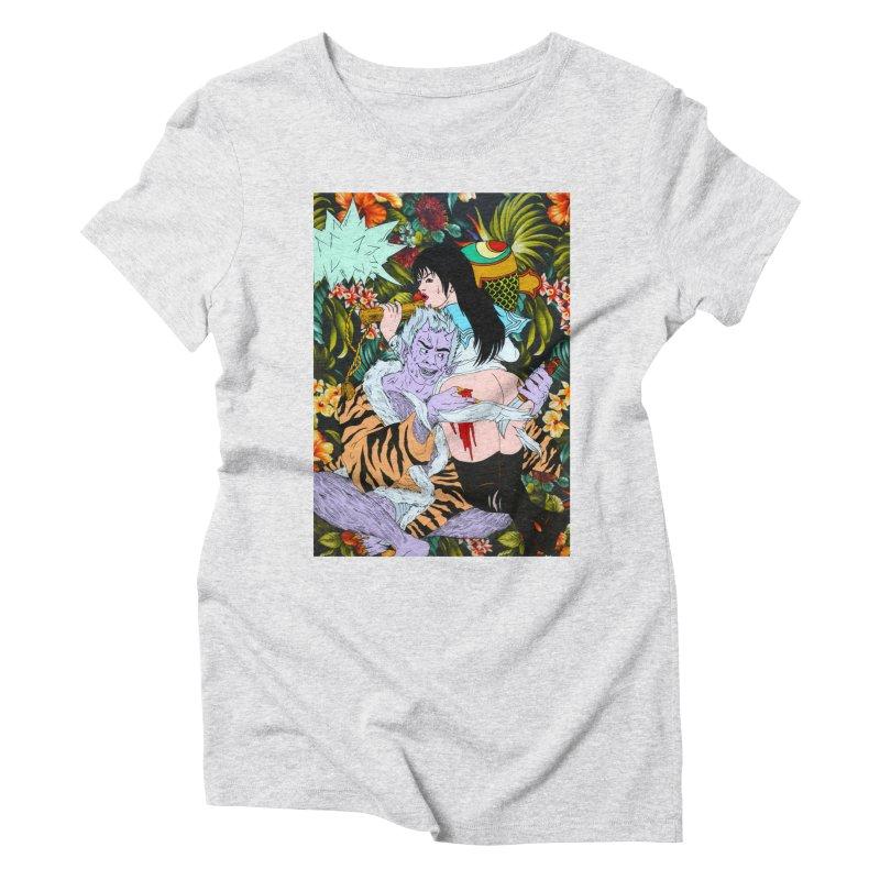 """""""Get Lucky"""" Women's Triblend T-Shirt by Tina Lugo's Artist Shop"""