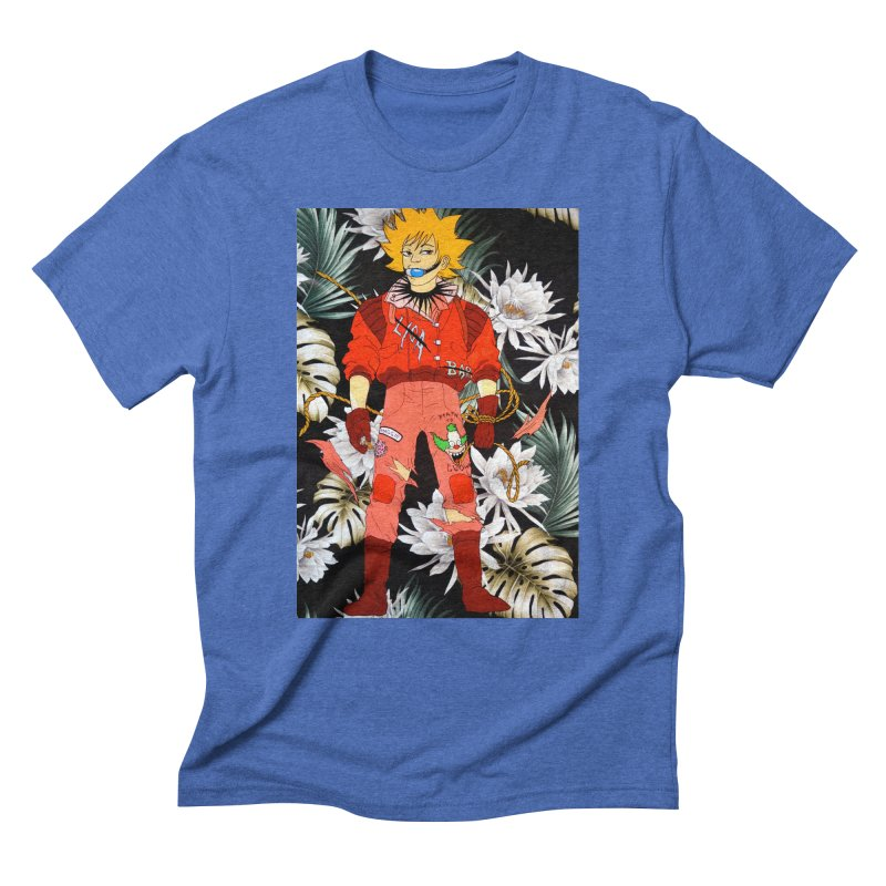 """Bartkira"" Men's Triblend T-Shirt by Tina Lugo's Artist Shop"