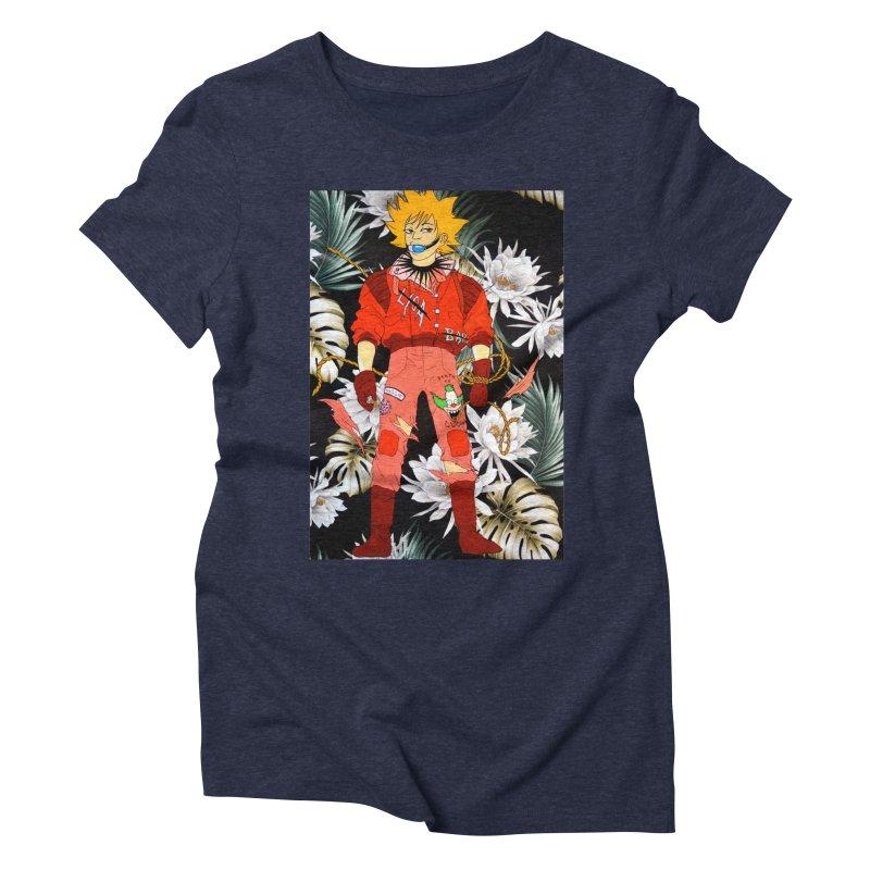 """Bartkira"" Women's Triblend T-Shirt by Tina Lugo's Artist Shop"