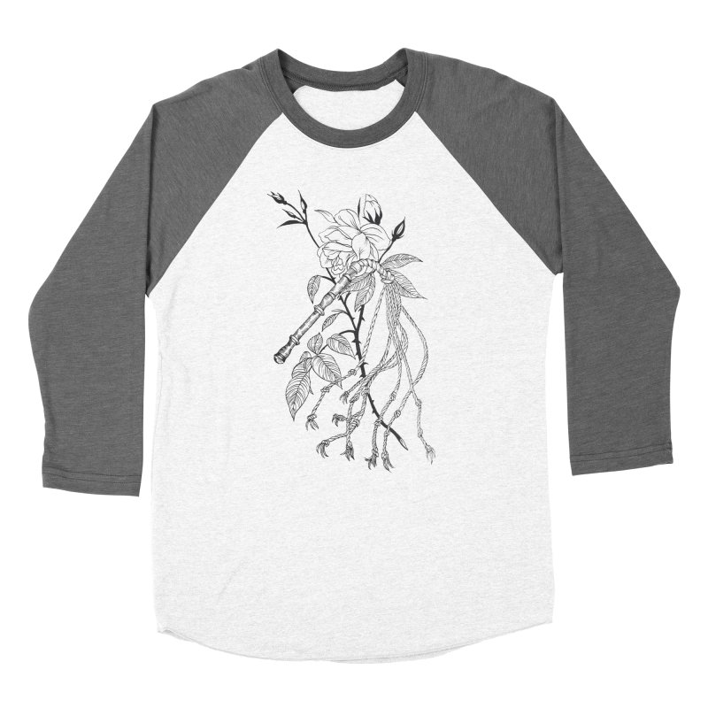 Whip me Men's Baseball Triblend Longsleeve T-Shirt by Tina Lugo's Artist Shop
