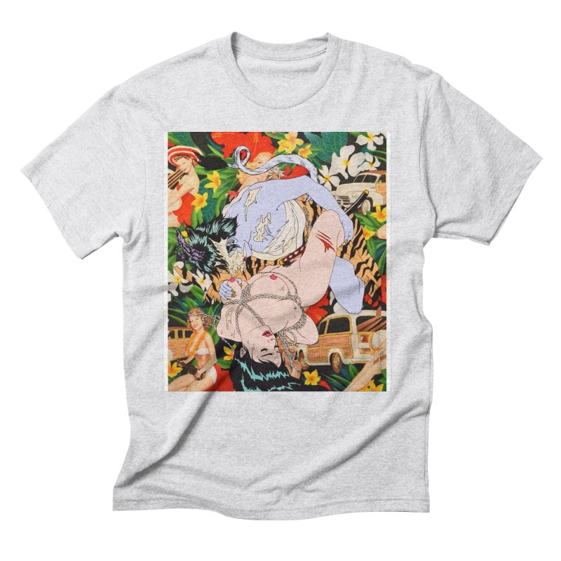 A.D.I.D.A.S Men's Triblend T-Shirt by Tina Lugo's Artist Shop