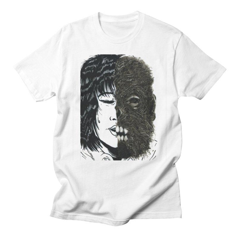 Beasts Within Men's Regular T-Shirt by Tina Lugo's Artist Shop