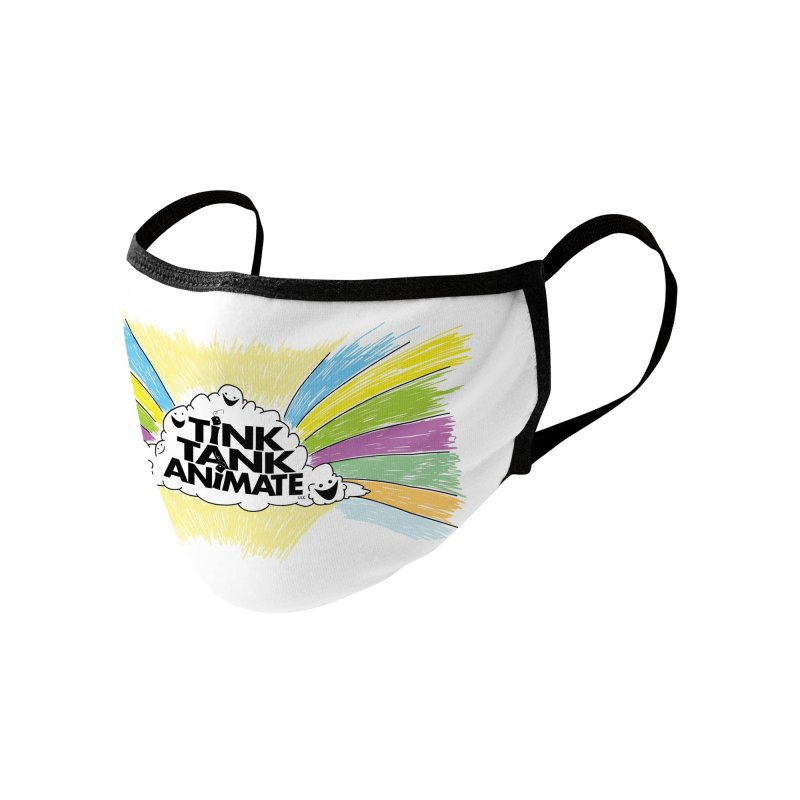 Tink Tank Animate CLoud Logo Accessories Face Mask by Tink Tank Animate