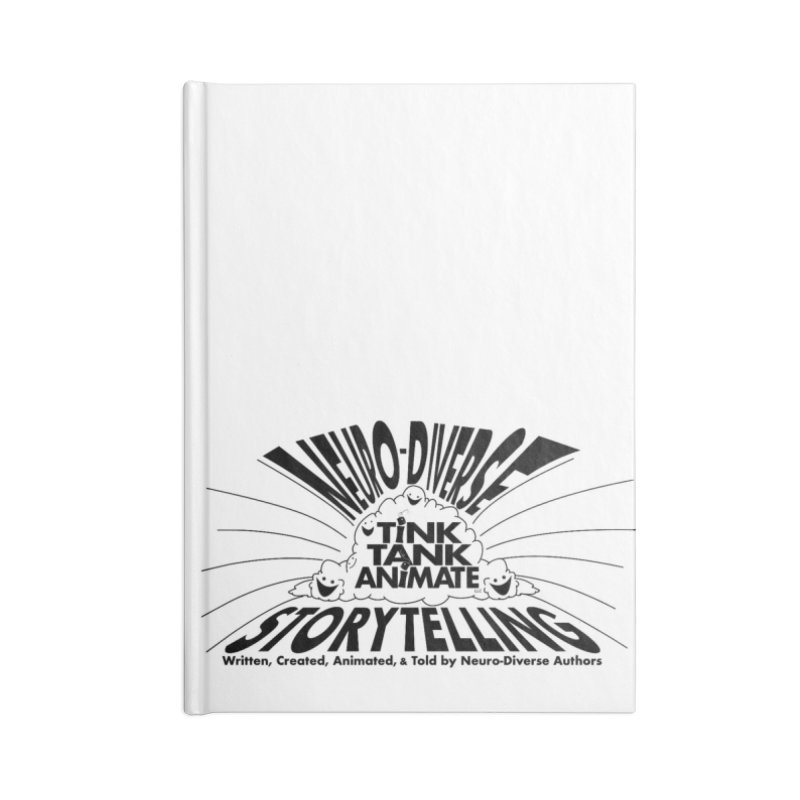 Tink Tank Neuro-Diverse Cloud Accessories Notebook by Tink Tank Animate