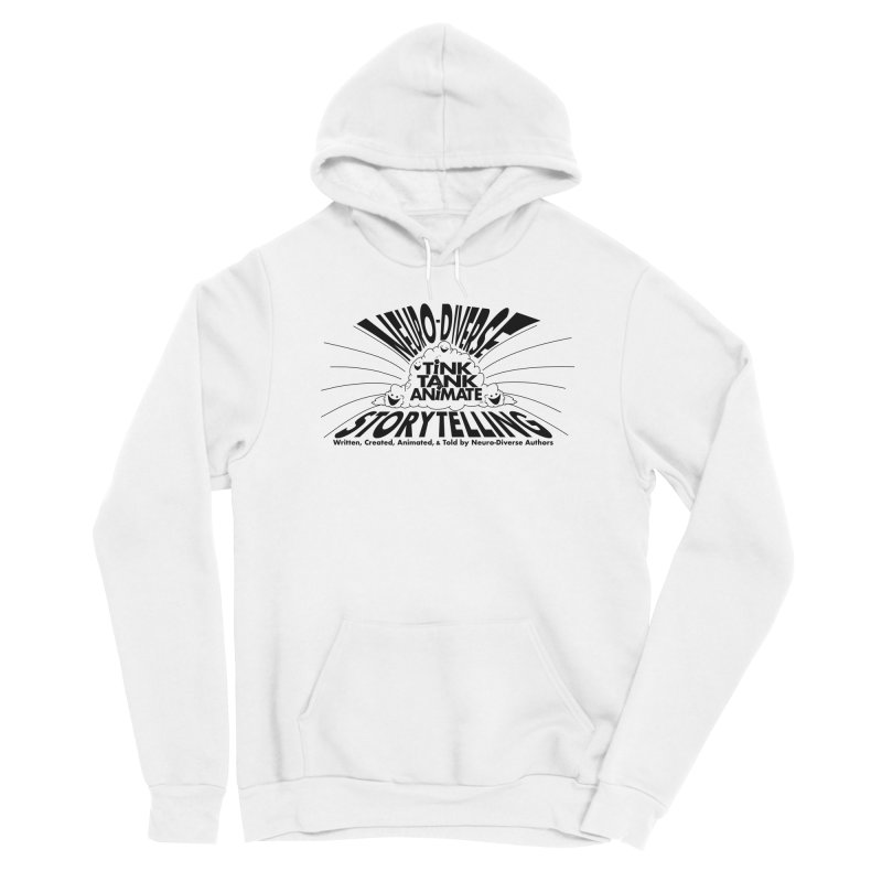 Tink Tank Neuro-Diverse Cloud Women's Pullover Hoody by Tink Tank Animate
