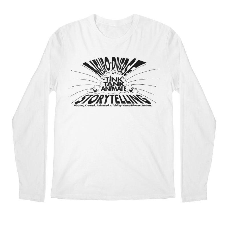 Tink Tank Neuro-Diverse Cloud Men's Longsleeve T-Shirt by Tink Tank Animate